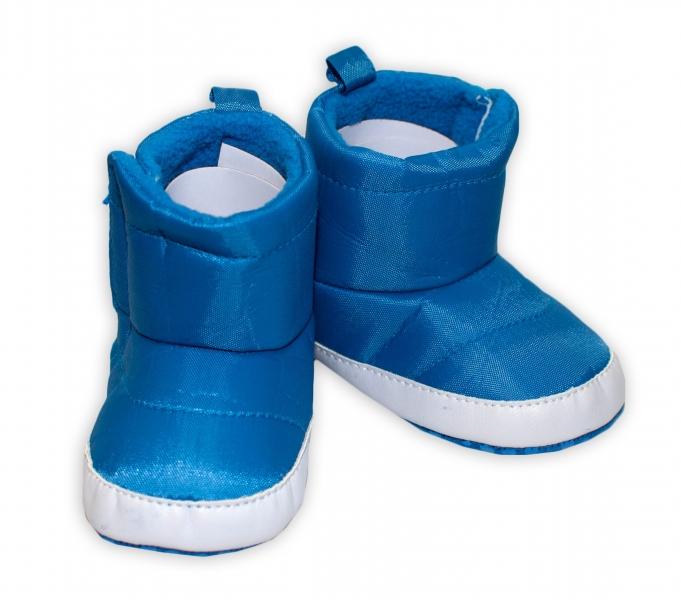 YO! Zimné nepremokavé topánočky Kozmonaut YO! - modré, 0-6m