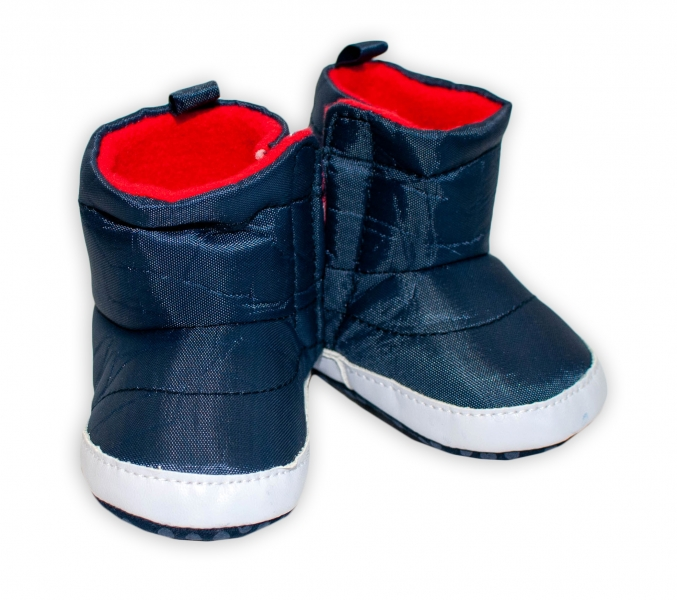 YO! Zimné nepremokavé topánočky / capačky Kozmonaut YO! - granát, 0-6m