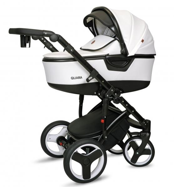 Kočík Coto Baby 2 v 1 QUARA Eco 2021 - biely