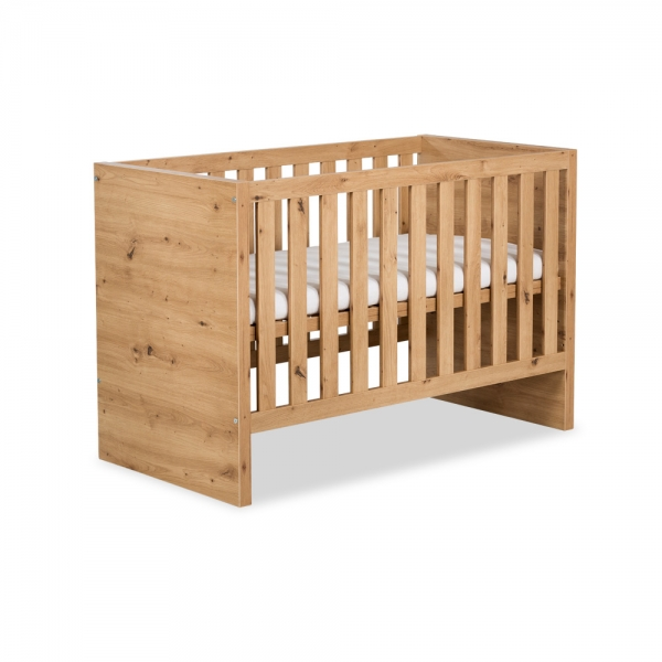 KLUPS Detská posteľ AMELIE biela-#Rozměry;120x60