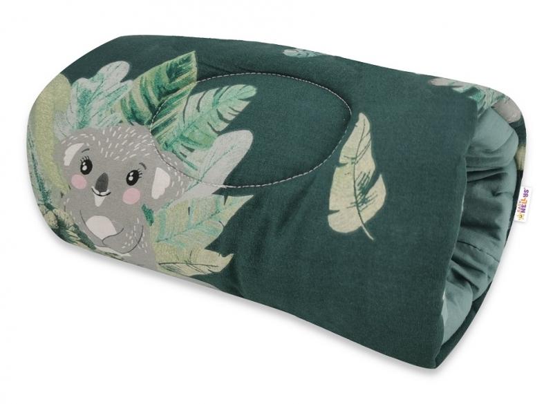Baby Nellys Dojčiace vankúš na ruku Tropical Koala - zelená