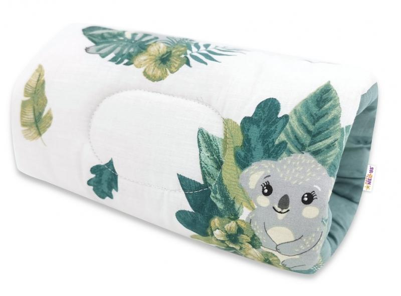 Baby Nellys Dojčiace vankúš na ruku Tropical Koala - zelená, biela