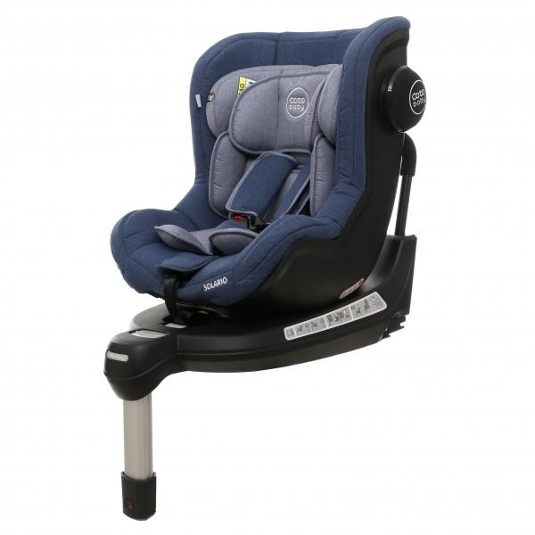 Coto Baby Autosedačka Solária s 360 °otáčaním, ISOFIX systémom,protismerná, 0-18 kg,  blue