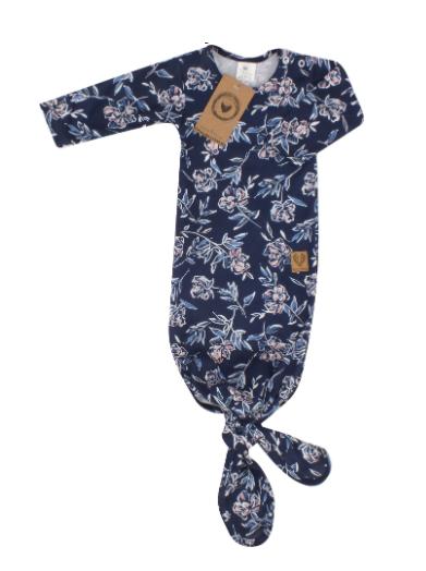 Dojčenský rastúci bavlnený overal + čiapočka Kvety, granát, veľ 56/62
