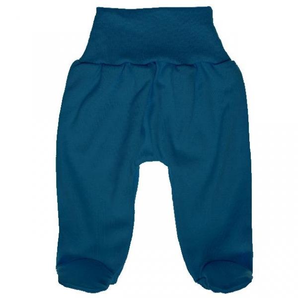 MBaby Bavlnené polodupačky - jeans, veľ. 62