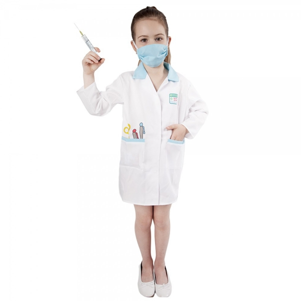 Detský kostým doktorka (S)