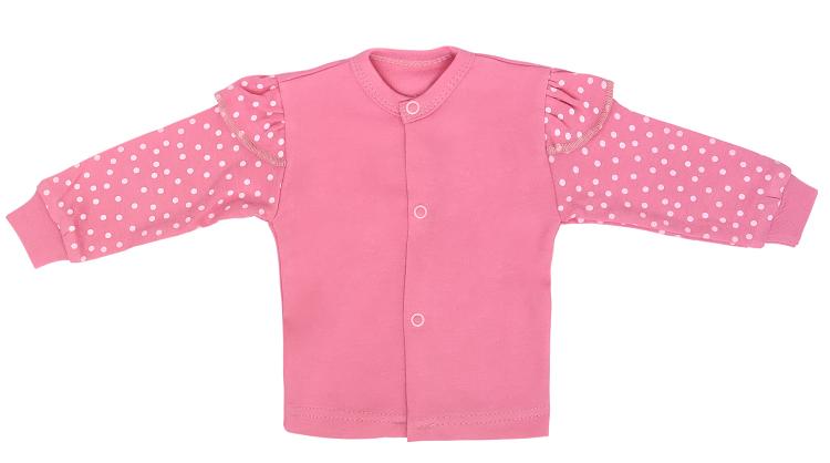Mamatti Novorodenecká bavlnená košieľka, Princezna Bodka-#Velikost koj. oblečení;50 (0-1m)
