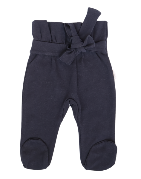 Mamatti Dojčenské polodupačky s ozdobným opaskom Gepardík - granát, vel. 74-#Velikost koj. oblečení;74 (6-9m)