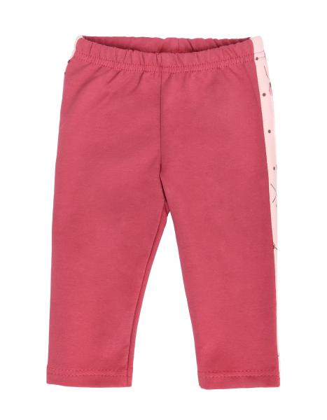 Detská tepláková súprava zapínanie na zips, Vlčí Mák - ružová, malinová, veľ 68