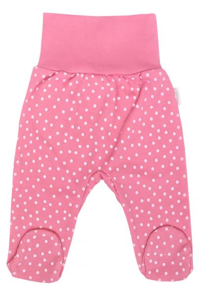 Mamatti Dojčenské polodupačky Princezna Bodka, ružová-#Velikost koj. oblečení;50 (0-1m)