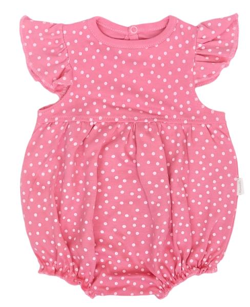 Mamatti Body s nohavičkami Princezna Bodka - ružové, veľ. 74-#Velikost koj. oblečení;74 (6-9m)