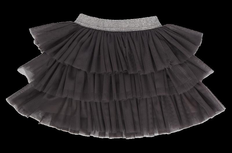 Mamatti Dojčenská tylová sukňa, Gepardík, grafitová-#Velikost koj. oblečení;74/80