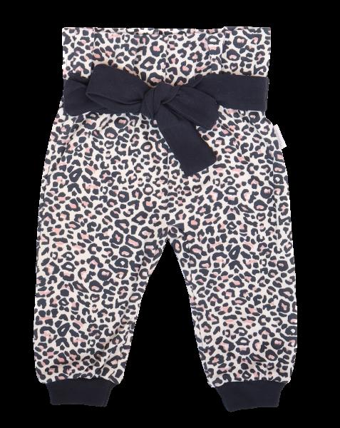 Mamatti Detské tepláčky s ozdobným pásikom, Gepardík, vzorované, veľ. 92-#Velikost koj. oblečení;92 (18-24m)