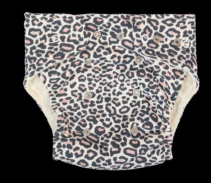 Mamatti Látková plienka EKO sada - nohavičky + 2 x plienka, Gepardík, veľ. 3 - 8 kg,