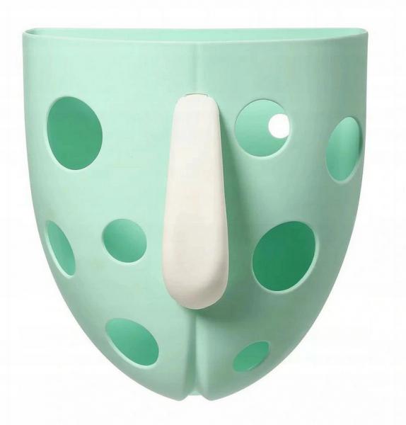 BabyOno Box, nádobka na hračky do vody - mátový