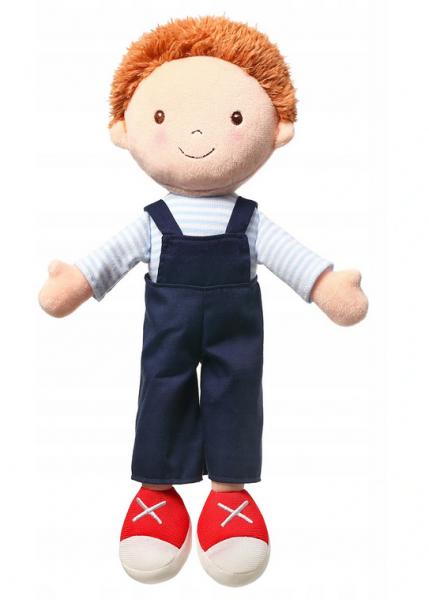 Handrová bábika BabyOno Oliver Doll, granátové