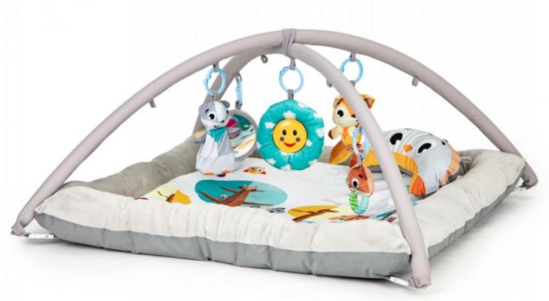 ECO TOYS Vzdelávacie hracia deka a hrazdou, Lesné zvieratká