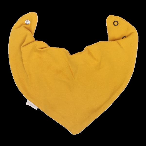 Mamatti Dětský šátek na krk Mýval - horčicivá