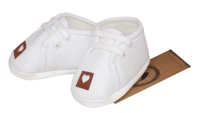 Z&Z Jarné dojčenske topánočky, capáčky - biele