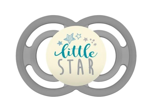 Symetrický cumlík Mam Perfect Night + 6m s krabičkou - Little Star