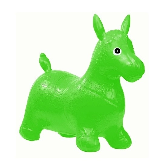 Tulimi Skákacie gumové zvieratko - Koník, zelený