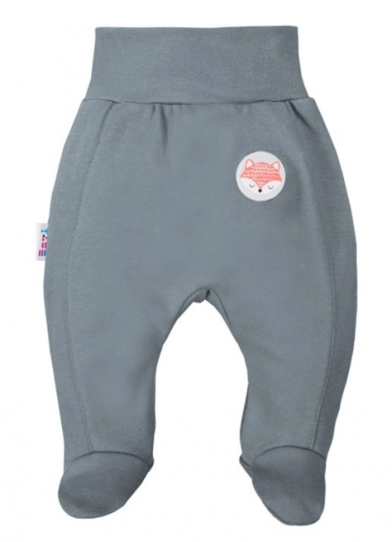 EEVI Dojčenské polodupačky Adventure - Liška, khaki, veľ. 62-#Velikost koj. oblečení;62 (2-3m)