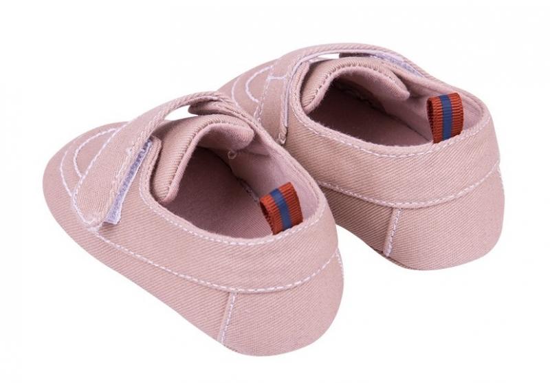 Dojčenské topánky / capáčky, béžové, 0-6 mes