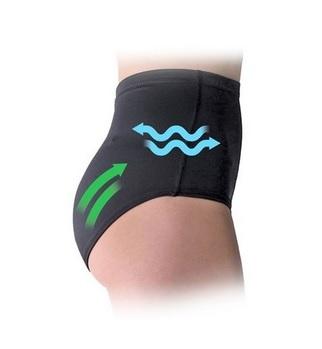 Be Maamaa Špeciálne tvarujúce nohavičky PROSKIN Push-up - béžová, veľ. L/40