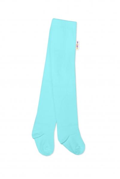 Baby Nellys Detské pančuchy bavlnené - svetlo modré-#Velikost koj. oblečení;62/74