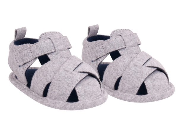 YO! Chlapčenské capáčky, sandálky, sivé, 6 - 12