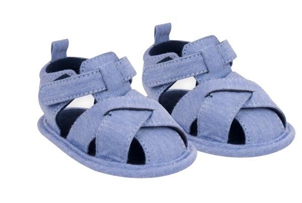 YO! Chlapčenské capáčky, sandálky, modré, 6 - 12