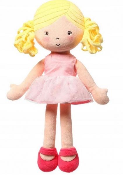 Handrová bábika BabyOno Alice Doll, ružová
