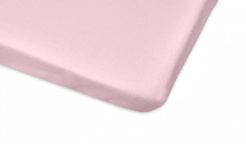 Mamo Tato Bavlnené prestieradlo 70x140cm - sv. ružová-#Rozměry;140x70