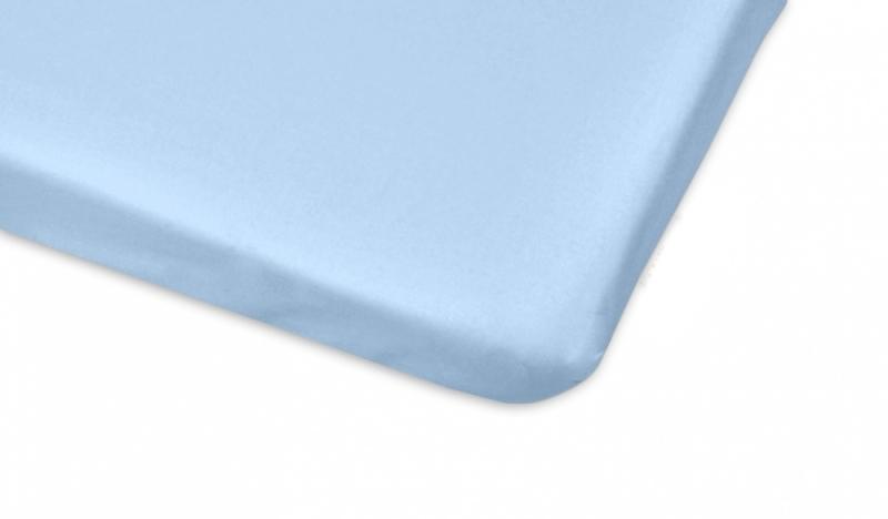 Mamo Tato Bavlnené prestieradlo 70x140cm - sv. modrá-#Rozměry;140x70