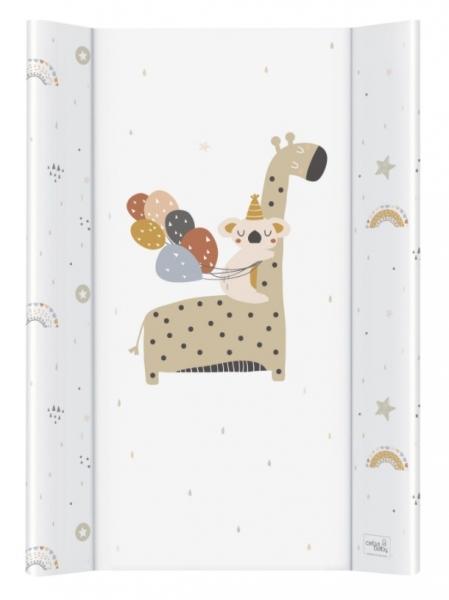Ceba Baby prebaľovacia podložka Giraffe - tvrdá, 50x70 cm