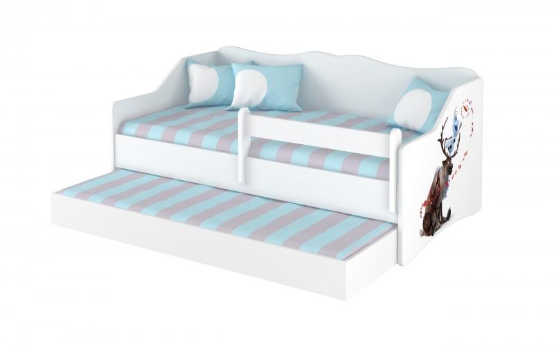 Babyboo Detská posteľ LULU 160 x 80 - Frozen-#Rozměry;160x80