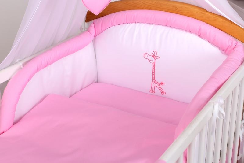 10-dielny set Žirafka - Ružová