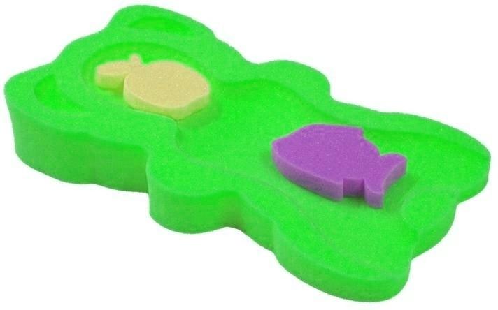 Tega Baby Matračka - huba na kúpanie bábätiek MIDI - zelená