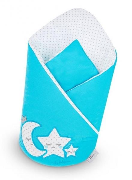 Belisima Zavinovačka s kokosovou vložkou - Magická Hviezdička - modrá