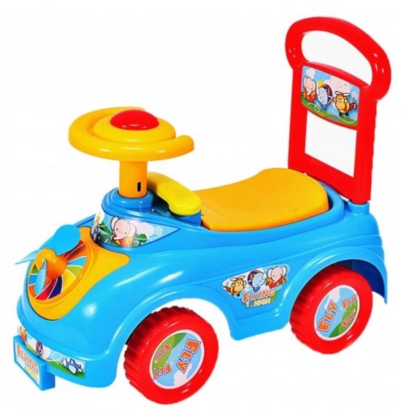 Tulimi Detské odrážadlo, odrážadlo, Jezdítko Auto s vrtuľkou