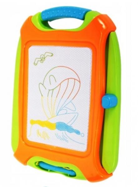 Tulimi Mazacia tabuľka pre kreslenie magnetickým perom, oranžová
