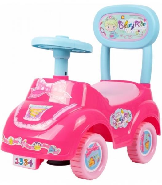 Tulimi Detské odstrkovadlo, odrážadlo, jezdítko Beauty Rider, ružové
