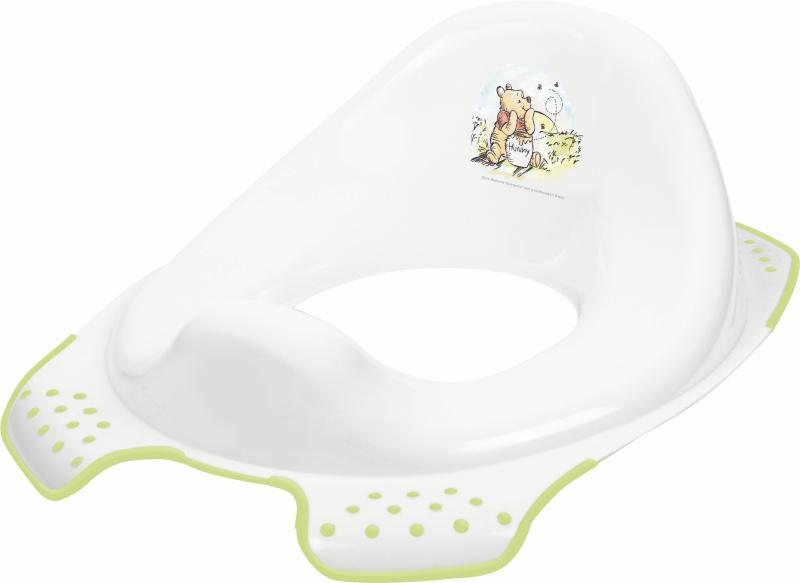 Keeeper Adaptér - tréningové sedátko na WC - Macko Pú a priatelia - biele