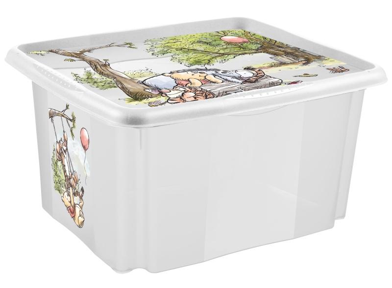 Keeeper Box na hračky Macko Pú a priatelia - 45 l