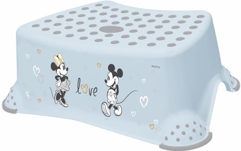 Keeeper Stolička, schodík s protišmykovou funkciou - Mickey Mouse, modrý