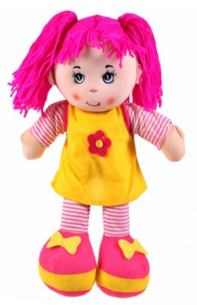 Tulimi Látková bábika Majka - ružové vlasy