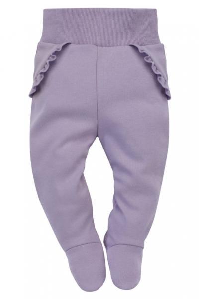 Pinokio Dojčenské polodupačky My Garden - lila, veľ. 62-#Velikost koj. oblečení;62 (2-3m)