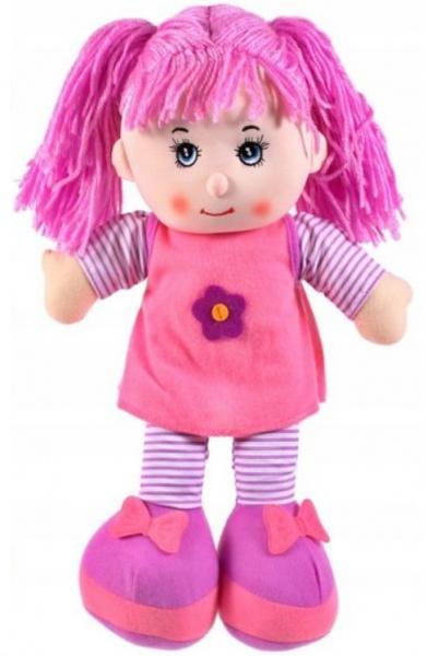 Tulimi Látková bábika Majka - fialové vlasy