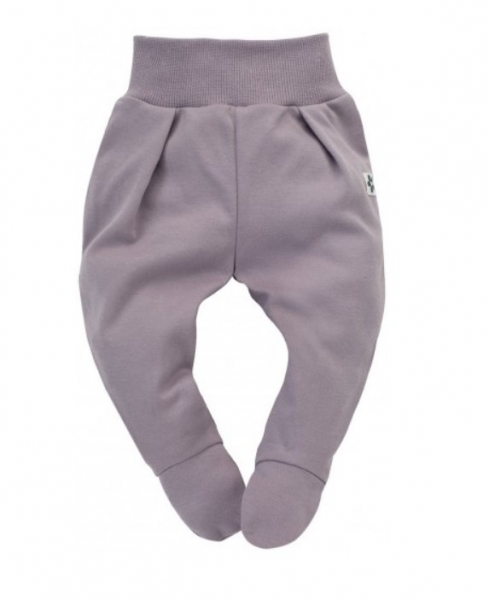 Pinokio Dojčenské polodupačky Happiness - lila-#Velikost koj. oblečení;56 (1-2m)
