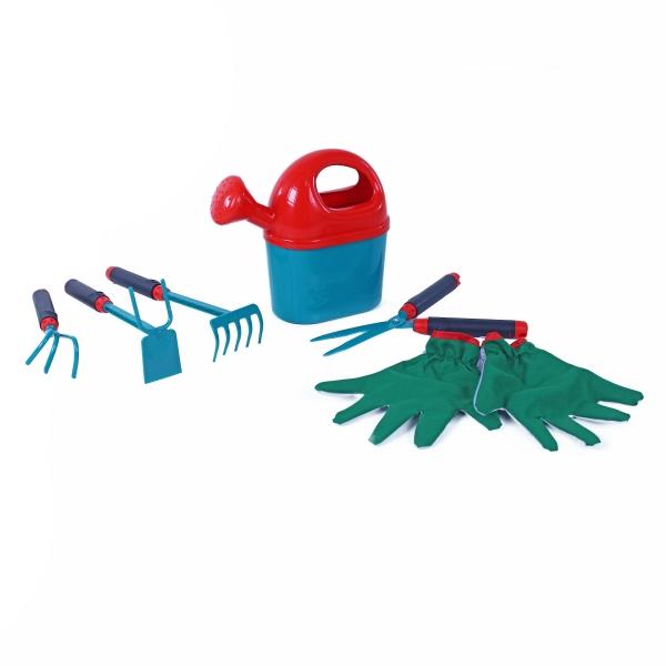 Set zahradní 6 ks s rukavicemi